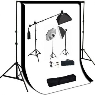 Package with strobe lighting