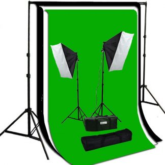 Package with video lighting