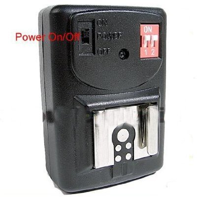 GY04 4 Channel Wireless Hot Shoe Flash Receiver only