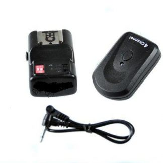 GY04 4 Channel Wireless Hot Shoe Flash Trigger & Receiver