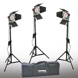 Focusable 3 Spot & Flood Light 2400 watt Constant Lights
