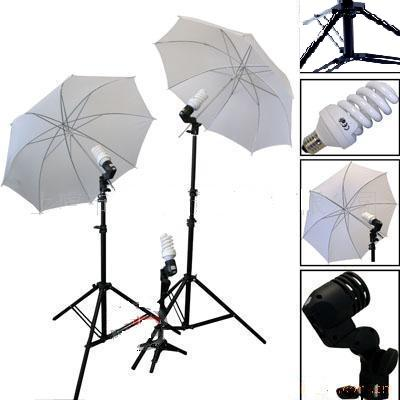 3-Head 1000W Umbrella Lighting Kit