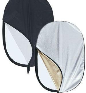 "Pro 40""x 60""  5 in 1 Photo Studio Multicolor Reflectors + Bag"