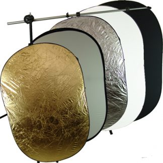 """5 in 1 40"""" X 60"""" OVAL Reflectors stand kit"""