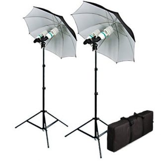 800W Reflective Umbrella Photo Lighting Kit