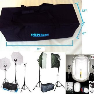 L Padded Studio Lighting Kit Carrying Case