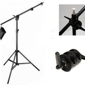 NEW Light Stand & Boom Arm Sandbag with 7' stand Kit