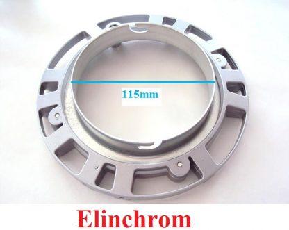 100% metal speedring for Elinchrom