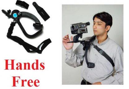 Hands Free Shoulder Holder Pad for Camcorder Video Cam