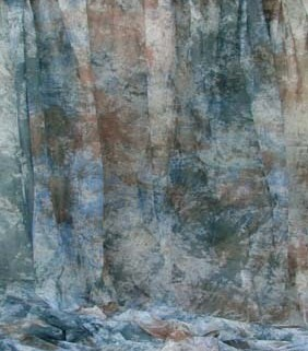 Blue Brown White Marbled Fantasy Cloth 10'X20' Backdrop