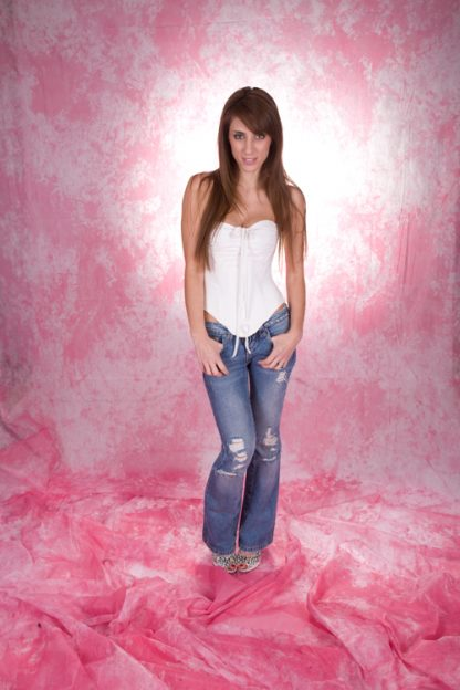 Pink White Marbled Fantasy Cloth 10'X20' Backdrop