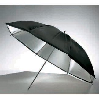 "40"" Black/Silver Photo Reflective umbrella"