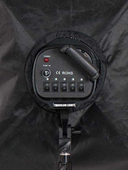 Pro 5 socket 2 lights 2000W Photo Studio Video Lighting kit