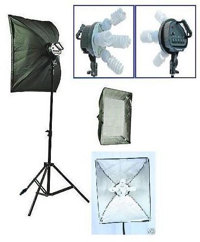 Pro 5 socket 1 light Phote Studio Video Lighting Kit