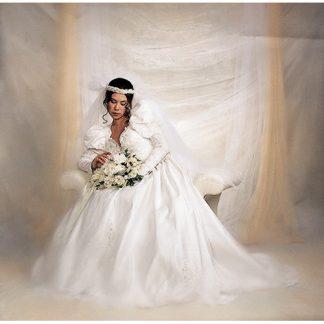 Pure White Fantasy Cloth 10'X20' Backdrop