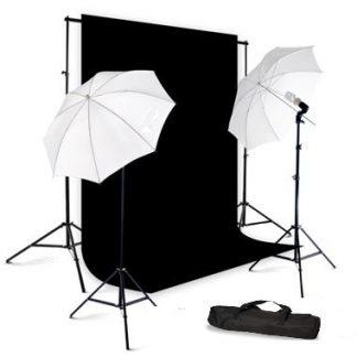 Umbrella light black screen kit