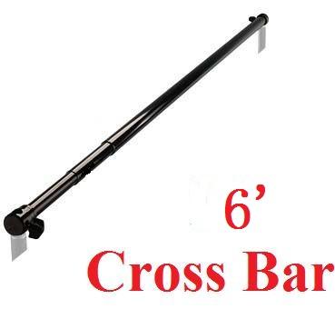 Fully Adjustable 10' Backdrop Stand Crossbar universal