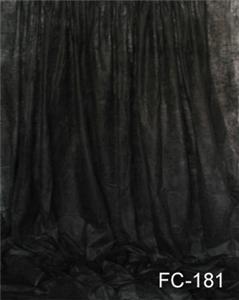 Solid Black Fantasy Cloth 10'X20' Backdrop