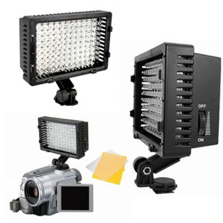 160 LED Camera Video Camcorder Hot Shoe Lamp Light