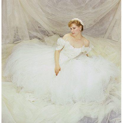Cream Solid Fantasy Cloth 10'X20' Backdrop