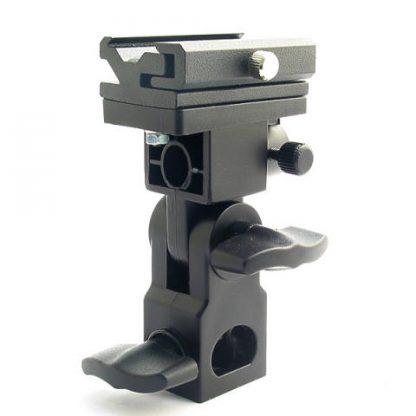 Flash shoe mount /umbrella holder with adjust screw