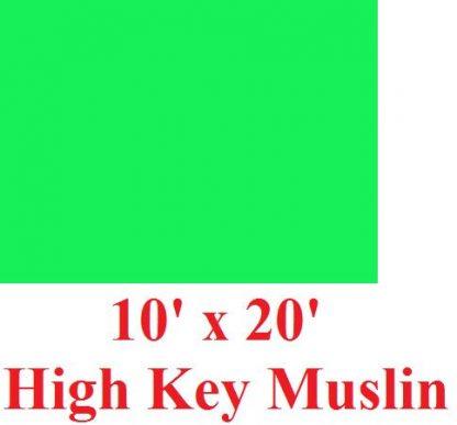 NEW Heavy duty Green High Key 10'X20' Muslin Backdrop