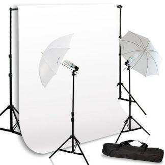 Umbrella light white screen kit