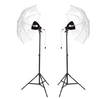 Fluorescent 600-Watt Continuous Light 10' Reflector Umbrella kit