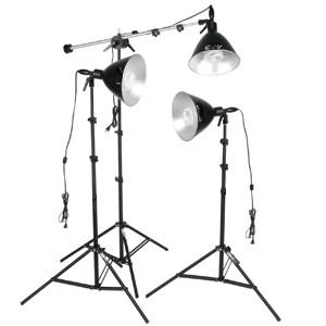 3-Light Fluorescent 900-Watt Reflector kit