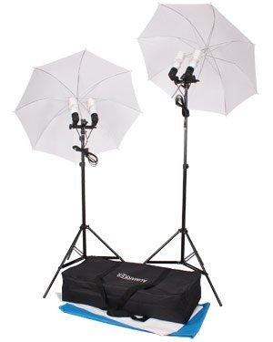 800W Umbrella Photo Lighting Kit