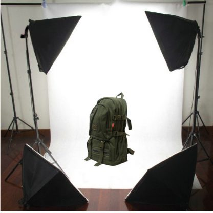4-head softbox continuous lighting kit