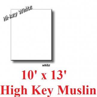 NEW heavy duty White 10'X12' High Key Muslin Backdrop