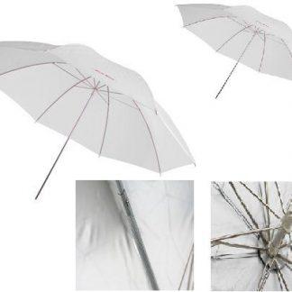 "2 x 33"" Photography Translucent Umbrellas"