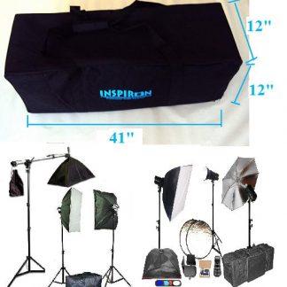 XL Padded Studio Lighting Kit Carrying Case