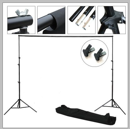 9'x10' Professional Backdrop Stands Kit