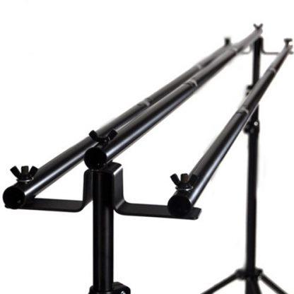 Triple Crossbar Professional Backdrop stand Kit