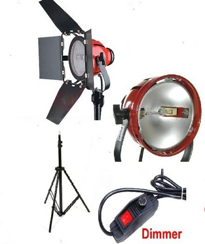Pro Studio Video Red Dimmable 800W Video Light & stand