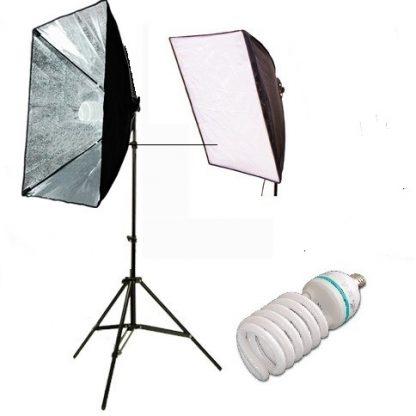 Rapid softbox single socket 1 light kit