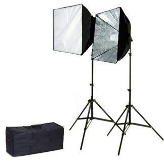 Rapid softbox single socket 2 lights video Lighting Kit