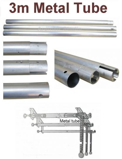 Aluminum Tube for Roller Wall-Mounted Background Support system