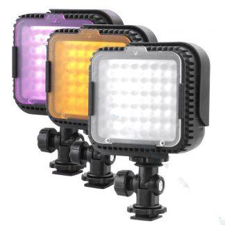 VL-480 2.9W 48-LED Video Light - Black (3 x AAA)