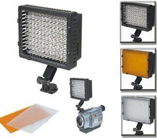 126 LED Camera Video Camcorder Hot Shoe Lamp Light