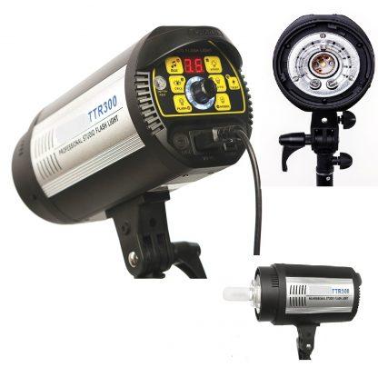 400W Flash Strobe Master Light Head with digital LED display