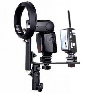 Strobist Speedlight Adapter Bowens Fit L Bracket Hot Shoe Mount