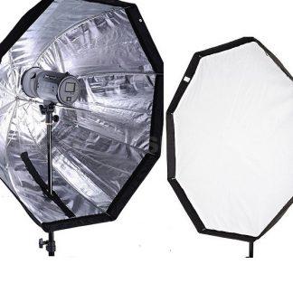 "Pro 32"" Octagon Umbrella Softbox for Nikon Canon Speedlite flash"