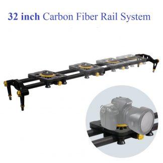 Pro 48-inch DSLR Camera Slider Dolly Track, Video Stabilizer, Ca
